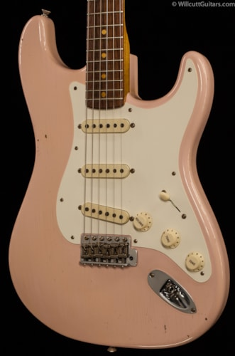 Fender® Custom Shop 1959 Strat® Journeyman Relic® Shell Pink (059) Custom Shop 1959 Strat®