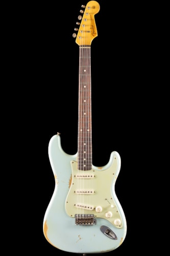 Fender® Custom Shop 1959 Stratocaster® Heavy Relic® Sonic Blue (364) Custom Shop 1959 Stratocaster®