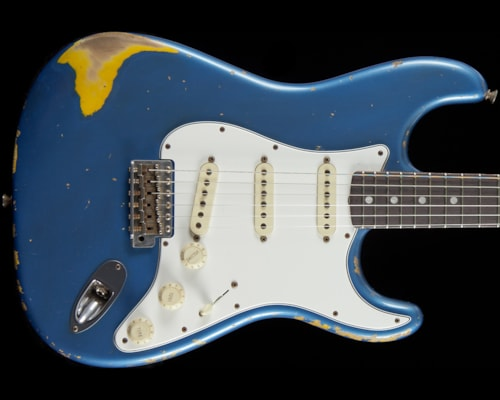Fender® Custom Shop 1966 Stratocaster® Relic® Lake Placid Blue Custom Shop 1966 Stratocaster®