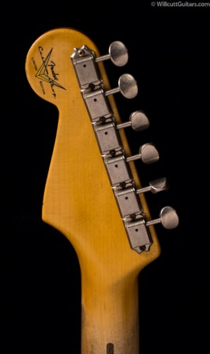 Fender® Custom Shop Limited 55 Stratocaster® Relic® Dirty White Blonde Relic® (893) Custom Shop Limited 55 Stratocaster®