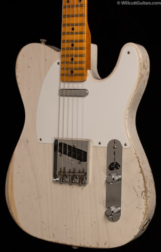 Fender® Custom Shop Masterbuilt 1957 Tele® Heavy Relic® White Blonde (364) Custom Shop Masterbuilt 1957 Tele®