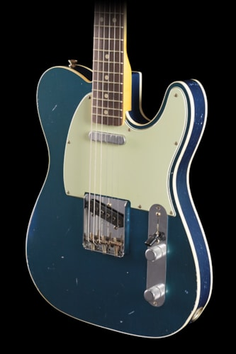 Fender® Custom Shop Masterbuilt 1963 Telecaster® Lake Placid Blue (898) Custom Shop Masterbuilt 1963 Telecaster®