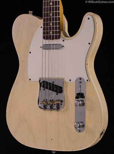 Fender® Custom Shop Post Modern Journeyman Relic® Telecaster® Aged White Blonde (269) Custom Shop Post Modern Journeyman Relic® Telecaster®
