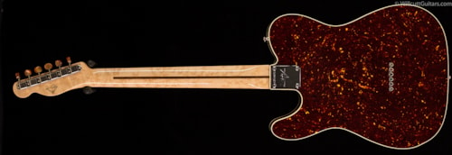 Fender® Custom Shop Tortoise Covered Telecaster® NOS, Masterbuilt (872) Custom Shop Tortoise Covered Telecaster®