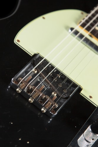 Fender® Custom Shop 1963 Telecaster® Relic® Black (122) Custom Shop Telecaster®