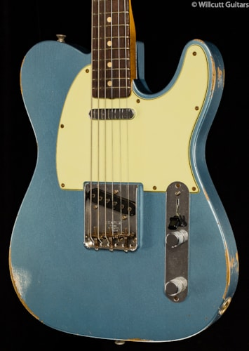 Fender® Custom Shop 1963 Relic® Telecaster® Blue Ice Metallic (354) Custom Shop 1963