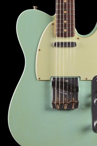 Fender® Custom Shop 1963 Telecaster® Relic® Faded Sonic Blue (512) Custom Shop 1963 Telecaster®
