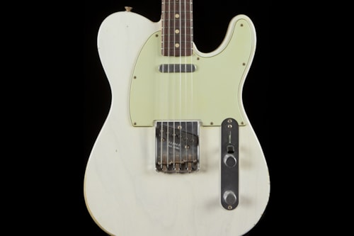 Fender® Custom Shop 1963 Telecaster® Relic® White Blonde Custom Shop 1963 Telecaster®
