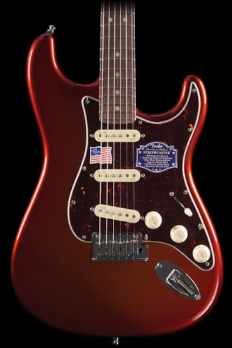 Fender® American Deluxe Stratocaster® 2-Tone Iron Burst, Rosewood (629) American Deluxe Stratocaster®