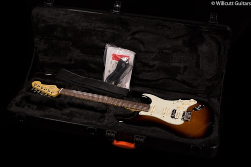 Fender® Limited Edition American Deluxe Mahogany Strat® HSS (999) Limited Edition American Deluxe Mahogany Strat®