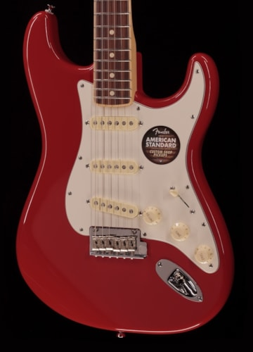 Fender® American Standard Stratocaster® Channel Bound Dakota Red Limited (100) American Standard Stratocaster® Channel Bound Dakota Red Limited