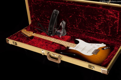 Fender® 60th Anniversary American Vintage 1954 Stratocaster® 2-Color Sunburst (431) 60th Anniversary American Vintage 1954 Stratocaster®