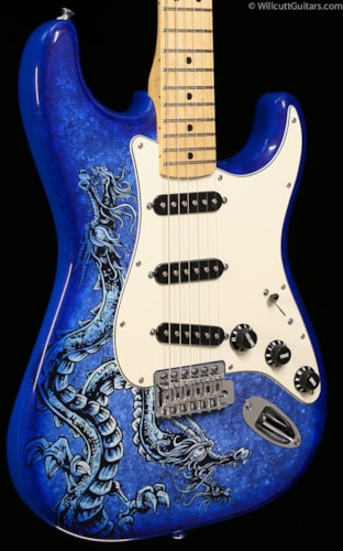 Fender® Special Edition Standard Stratocaster® David Lozeau Artwork Dragon (688) Special Edition Standard Stratocaster® David Lozeau Artwork Dragon