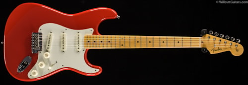 Fender® Vintage Hot Rod '50s Stratocaster® Fiesta Red (225) DEMO Vintage Hot Rod '50s Stratocaster®