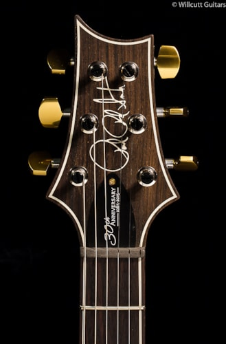 PRS Custom 24 30th Anniversary Black Gold Smoke Wrap Burst (949) Custom 24 30th Anniversary