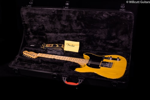 Fender® Limited Edition American Standard Double-Cut Tele® Butterscotch Blonde (684) Limited Edition American Standard Double-Cut Tele®