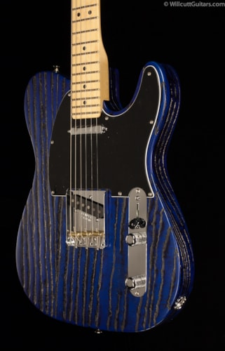 Fender® Limited Edition Sandblasted Ash Telecaster® Sapphire Blue (968) Limited Edition Sandblasted Ash Telecaster®