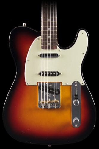 Fender® Vintage Hot Rod '60s Telecaster® 3-Color Sunburst, Rosewood (294) Vintage Hot Rod '60s Telecaster®