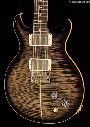PRS Santana Signature Model Charcoal Burst 10 Top (611) Santana Signature Model