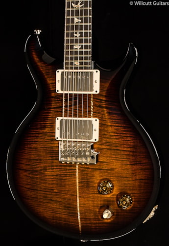PRS Santana Signature Model Black Gold Smokeburst 10 Top (716) Santana Signature Model