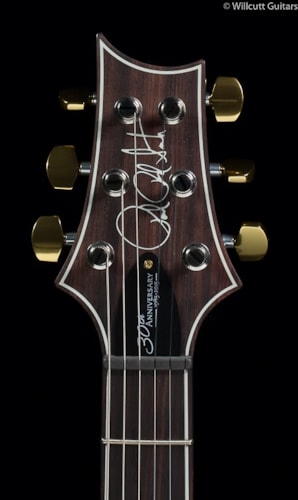 PRS Custom 24 30th Anniversary Charcoal Burst 10 Top (491) Custom 24 30th Anniversary