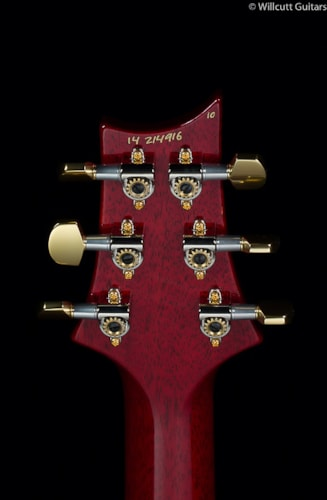 PRS Custom 24 30th Anniversary Scarlet Red 10 Top (916) Custom 24 30th Anniversary