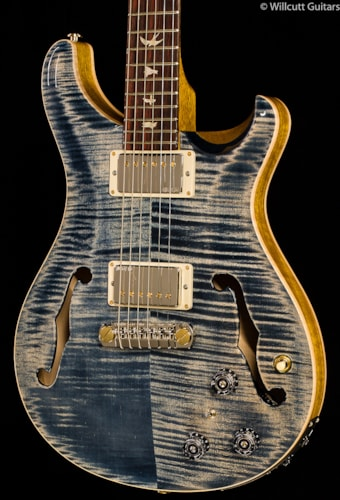 PRS Hollowbody II Faded Whale Blue Wood Library Edition (555) Hollowbody II