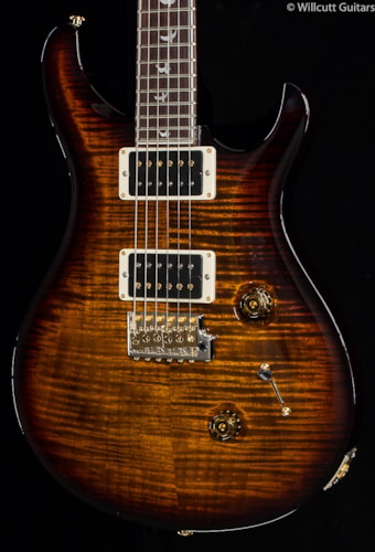 PRS Custom 24 30th Anniversary Black Gold Wrap 10 Top (196) Custom 24
