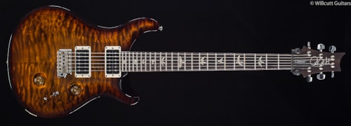 PRS Custom 24 30th Anniversary Black Gold Wrap Quilted 10 Top (980) Custom 24 30th Anniversary
