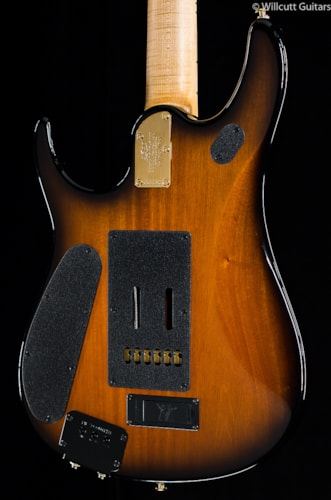 Music Man Premier Dealer BFR John Petrucci Figured Koa Top Vintage Tobacco Burst (686) Premier Dealer John Petrucci