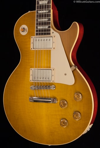 Gibson Custom Shop 1958 Les Paul Flametop VOS Lemon Burst (046) Custom Shop 1958 Les Paul