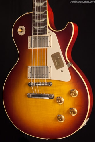 Gibson Custom Shop 1958 Les Paul Flametop VOS Boubon Burst (432) Custom Shop 1958 Les Paul