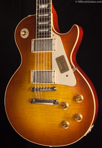 Gibson Custom Shop 1958 Les Paul Flametop VOS Sunrise Tea Burst (412) Custom Shop 1958 Les Paul
