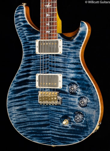 PRS Wood Library DGT Faded Whale Blue 10 Top (740) Wood Library DGT