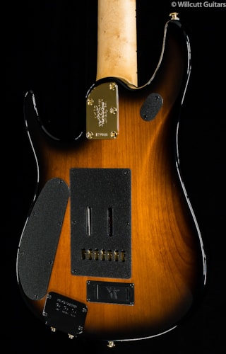 Music Man Premier Dealer J7-String BFR Vintage Tobacco Burst Koa Top (846) Premier Dealer JP7-String BFR