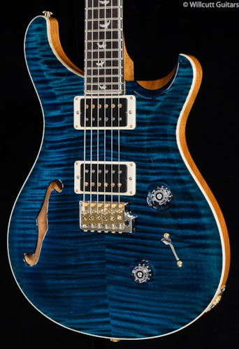 PRS Wood Library Custom 24 30th Anniversary Semi-Hollow Azul 10 Top (678) Wood Library Custom 24 30th Anniversary Semi-Hollow