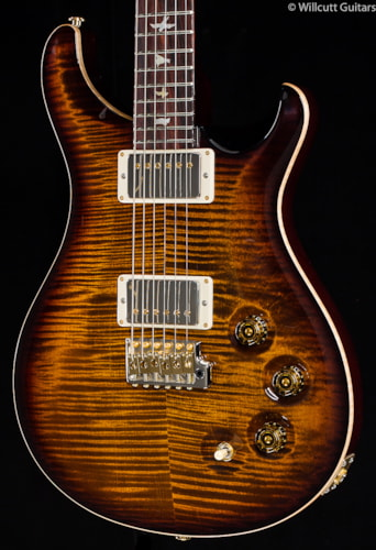 PRS Wood Library DGT Black Gold 10 Burst Top (786) Wood Library DGT