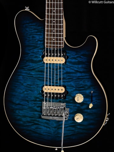 Music Man Axis Super Sport HH Pacific Blueburst Rosewood (140) Axis Super Sport HH