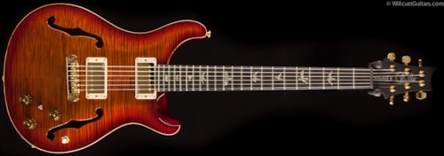 PRS Hollowbody I Artist Package Dark Cherry Sunburst Rosewood Neck (539) Hollowbody I Artist Package
