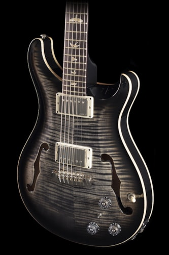 PRS Hollowbody II Charcoal Burst 10 Top (345 Hollowbody II