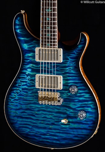 PRS Private Stock 5843 Custom 24 Aquamarine Smoke Burst Private Stock 5843 Custom 24