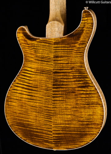 PRS Hollowbody II Black Gold Wood Library Edition (213) Hollowbody II Wood Library Edition