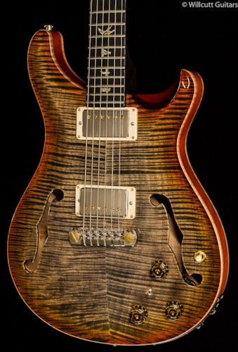 PRS Hollowbody II Artist Package Burnt Leaf Maple (058) Hollowbody II Artist Package