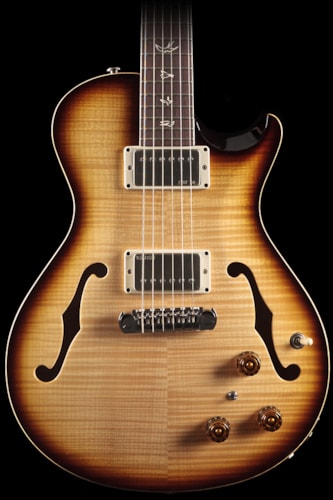 PRS Singlecut Hollowbody II Old Natural 10 Top (396) Singlecut Hollowbody II