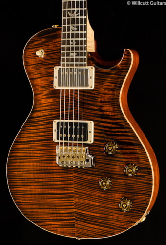PRS Mark Tremonti Signature Artist Package Orange Tiger Flame Maple Neck (512) Mark Tremonti Signature Artist Package