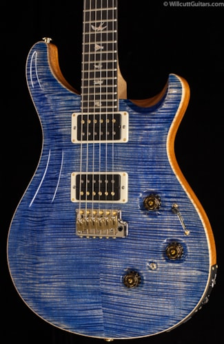 PRS P24 Artist Package Faded Blue Jean Flame Maple Neck (386) P24 Artist Package