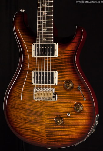 PRS P24 Black Gold Wraparound Burst 10 Top (572) P24