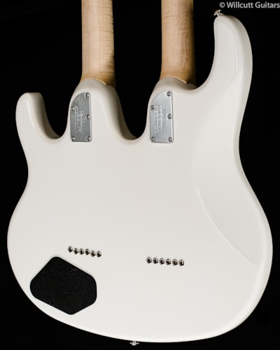 Music Man Silhouette Double-Neck White (319) Silhouette Double-Neck