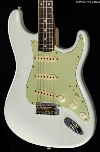 Fender® Custom Shop Willcutt True '62 Stratocaster® Olympic White (614) Custom Shop Willcutt True '62 Stratocaster®