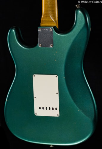 Fender® Custom Shop Willcutt True '62 Stratocaster® Sherwood Green (037) Custom Shop Willcutt True '62 Stratocaster®